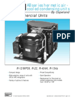 AB Series Hermetic Air Cooled Condensing Units
