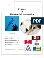 Project on telecom industry