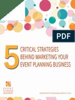 5 Critical Strategies