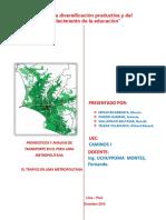 Pronosticos y Analisis Del Transporte en Lima Metropolitana