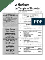 UT Bulletin April 2010