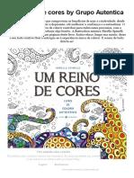 Download as PDF Um Reino de Cores by Grupo Autentica