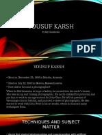 yousuf karsh power point