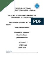 Proyecto de Mecánica de Fluidos, Conclusiones y Recomendacionesx