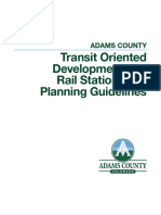 TOD and Rail Station Area Planning Guidelines