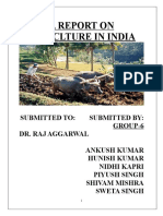 agriculture in india Report