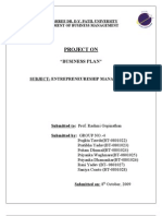 fisheries Business Plan -Finley Fisheries Pvt Ltd