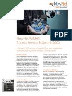 Wimax Asn 2000 Data Sheet