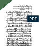 BALLABILE opera Otello piccolo and flute part
