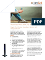 WiMAX CPEi 825 Data Sheet