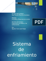 Sistema de Enfriamiento Por Aguilar Canul Joel Felipe