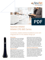 WiMAX CPEi 885 Data Sheet