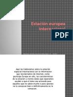 Estación Europea Internacional