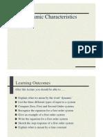 Dynamic Characteristics 2
