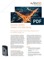 WiMAX CPEi 890 Data Sheet