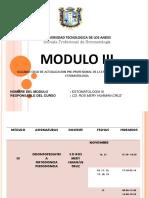 Modulo III 3ra Clase