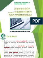 Modernización Del Estado Peruano