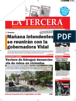 Diario La Tercera 15.12.2015