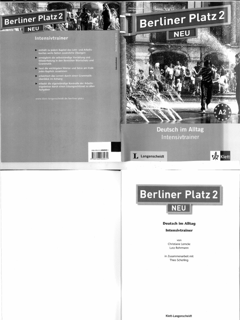 berliner platz 2 neu intensivtrainer. Black Bedroom Furniture Sets. Home Design Ideas