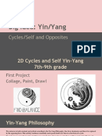 2-d yin-yang cycles and self