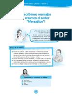 Documentos Primaria Sesiones Comunicacion PrimerGrado Primer Grado U1 Sesion 12