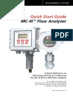 Mc III Quickstart Guide