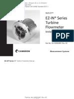 Nuflo Ez in Series Turbine Flow Meter