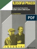 Filosofia e Prassi Lukacs e Bloch Convegno