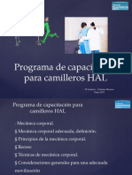 Programa de Capacitación Para Camillewros