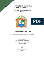 Analisis Critico Exploracion Con Muestreo