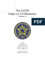 CCD Photometry Guide.