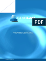 Stablab 2013 Manual ENG