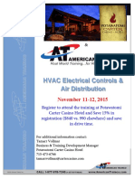 HVAC Electrical Course Agenda Update