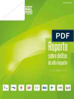 Reporte Sobre Delitos de Alto Impacto - Octubre 2015