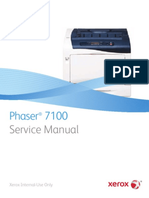 Xerox Phaser 7100 Series Service Manual Computer Architecture