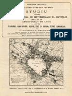 SFINTESCU (1919) Studiu Asupra Planului General de Sistematizare Al Capitalei ...