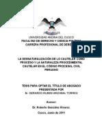 Derecho - Codigo Procesal Civil