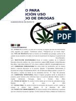 Módulo Para Prevención Uso Indebido de Drogas
