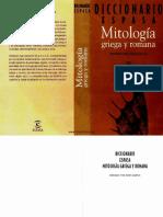 Literatura - Diccionario de Mitologia Griega y Romana