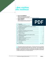 Description Des Roches