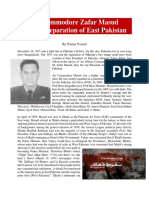 """Air Commodore Zafar Masud and the Separation of East Pakistan"" by Nasim Yousaf"