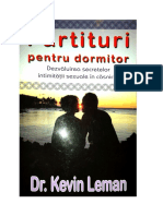Partituri pentru dormitor-Dr.Kevin Leman