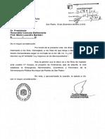 Proyecto de Ordenanza declarando el estado de Emergencia Administrativo, Economico y Financiero de la Administración Pública Municipal del Partido de San Pedro.-