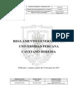 Reg General Upch 2015