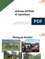 Pendekatan MTBSM di Jayawijaya