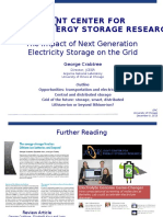 The Impact of Next Generation Storage on the Electric Grid