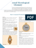 Illustrated Horological Glossary