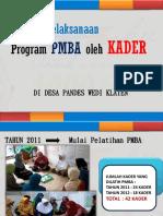 Presentasi Kader Pandes Klaten _gkia Loknas 15des