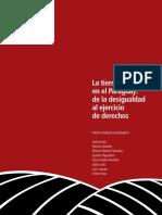 la tierra en paraguay - de la desigualdad al ejercicio de derechos.pdf
