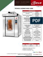 Nova - Ft Horno Max 1000